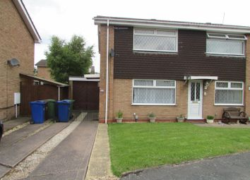 Thumbnail 2 bedroom semi-detached house to rent in Watson Close, Rugeley