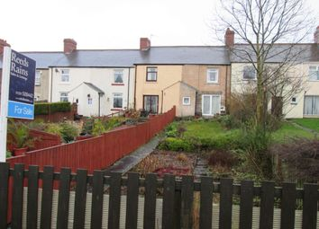 Thumbnail 2 bed terraced house for sale in West View, Medomsley Edge, Consett