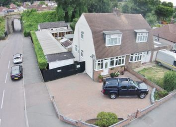Thumbnail 3 bedroom semi-detached house for sale in Eversley Avenue, Bexleyheath