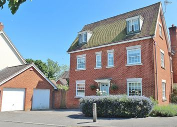 Thumbnail 5 bedroom detached house for sale in Hatchmore Road, Denmead, Waterlooville