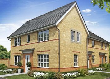 "Thumbnail 4 bedroom detached house for sale in ""Tamerton"" at Church Meadow, Boverton, Llantwit Major"