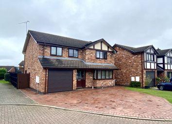 Thumbnail 4 bed detached house for sale in Mulcaster Court, Haslington, Crewe