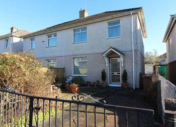 Thumbnail 3 bed semi-detached house for sale in Trinant Terrace, Pentwyn Crumlin, Newport