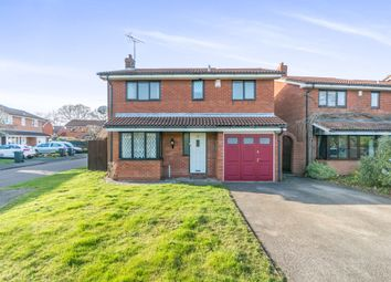 Thumbnail 4 bed detached house for sale in Longfield Close, Hall Green, Birmingham