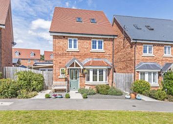 Thumbnail 4 bed detached house for sale in Lily Road, Four Marks, Alton