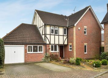 Thumbnail 4 bed detached house for sale in Winnipeg Drive, Green Street Green, Orpington