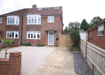 Thumbnail 5 bed semi-detached house for sale in Croft Road, Newbury