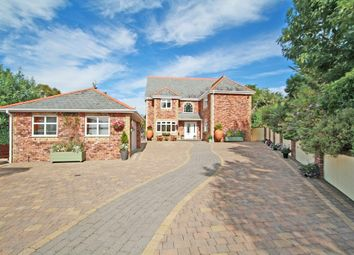Thumbnail 4 bed detached house for sale in Hexton Lodge, Hexton Hill, Hooe, Plymouth, Devon