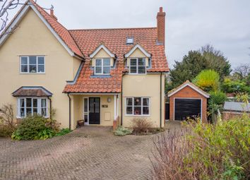 Thumbnail 3 bedroom semi-detached house for sale in Glemsford, Sudbury, Suffolk