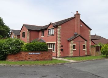 Thumbnail 4 bed detached house for sale in Bowlers Close, Fulwood, Preston