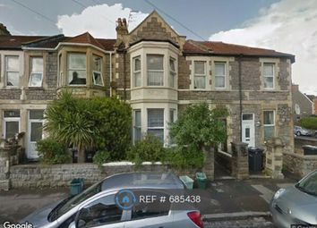 Thumbnail 1 bed flat to rent in Clifton Road, Weston-Super-Mare