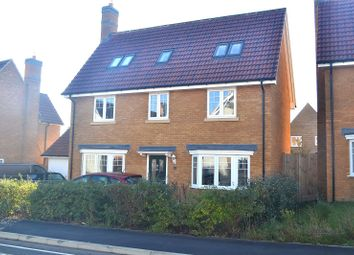 Thumbnail 5 bed detached house for sale in Woodlands Park Drive, Dunmow, Essex
