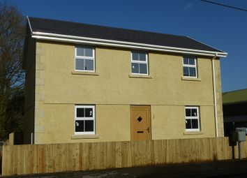 Thumbnail 3 bedroom detached house for sale in Cwmamman Road, Glanamman, Ammanford, Carmarthenshire.