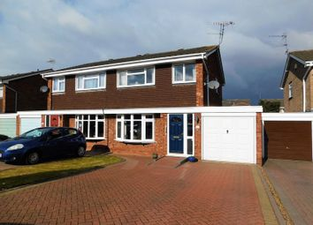 Thumbnail 3 bed semi-detached house for sale in The Bramblings, Wilwood, Stafford
