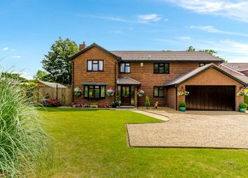 Thumbnail 5 bed detached house for sale in Hazelwood Drive, Gonerby Hill Foot, Grantham