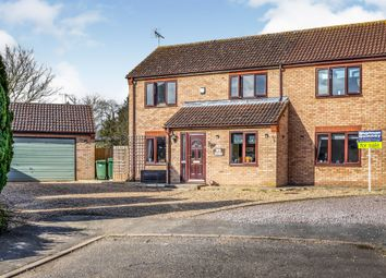 Thumbnail 4 bed detached house for sale in Bede Road, Baston, Peterborough