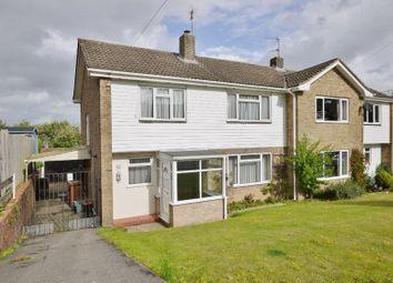 Thumbnail 3 bed semi-detached house for sale in Beagles Wood Road, Pembury, Tunbridge Wells