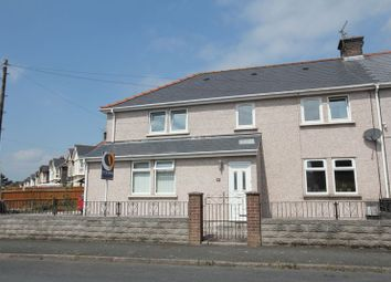 Thumbnail 4 bed semi-detached house for sale in North Walk, Barry