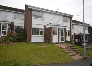 Thumbnail 2 bed terraced house to rent in Jubilee Drive, Exmouth, Devon