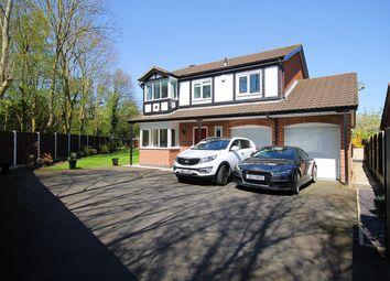 Thumbnail 4 bed detached house for sale in Penmark Close, Callands, Warrington