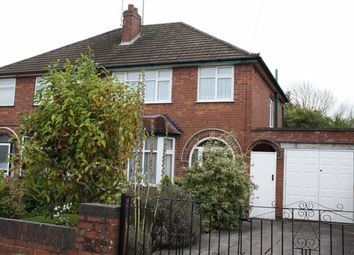 Thumbnail 3 bed semi-detached house for sale in Mendip Avenue, Leicester