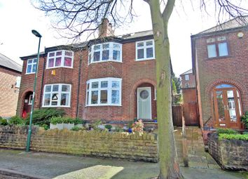 Thumbnail 3 bed semi-detached house for sale in Devonshire Crescent, Sherwood, Nottingham