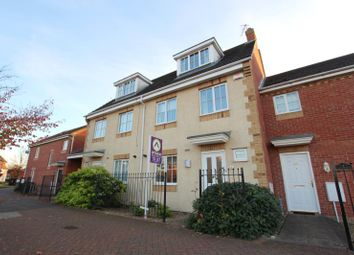 Thumbnail 3 bed town house to rent in Vale Drive, Hampton Vale, Peterborough