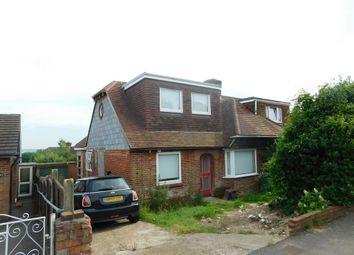 Thumbnail 3 bedroom semi-detached bungalow for sale in Carlton Road, Fareham