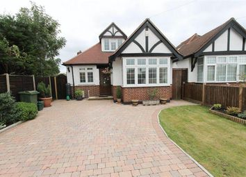 Thumbnail 4 bed detached bungalow for sale in The Warren, Worcester Park