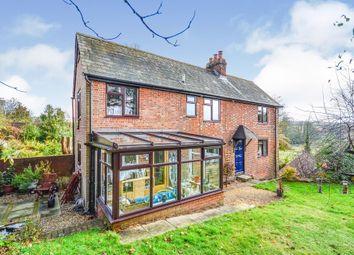 Thumbnail 4 bed detached house for sale in Stockbridge Road, Kings Somborne, Stockbridge