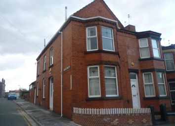 Thumbnail 3 bed end terrace house to rent in Ashford Road, Tranmere, Birkenhead