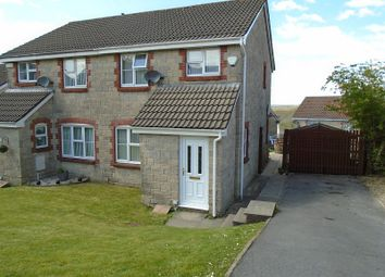 Thumbnail 3 bed semi-detached house for sale in Ffordd Dewi, Llangyfelach, Swansea