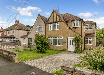 Thumbnail 4 bed semi-detached house for sale in Church Lane Avenue, Hooley, Coulsdon