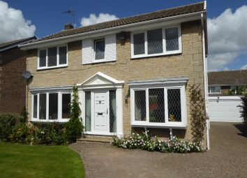 Thumbnail 4 bedroom detached house for sale in Field Avenue, Thorpe Willoughby, Selby