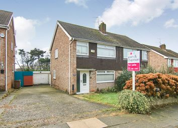 Thumbnail 3 bed semi-detached house for sale in Rossendale Close, Prenton