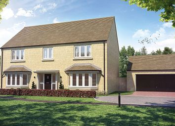 "Thumbnail 5 bed detached house for sale in ""The Taymore"" at Church Road, Long Hanborough, Witney"