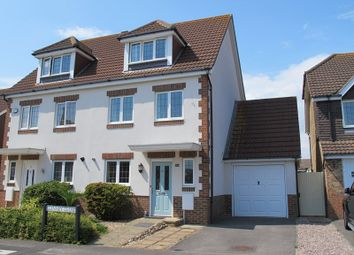 Thumbnail 3 bed semi-detached house for sale in Glenney Close, Lee-On-The-Solent