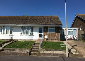 Thumbnail 3 bed semi-detached bungalow for sale in Nightingale Close, Eastbourne, East Sussex