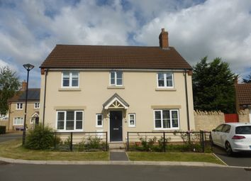Thumbnail 4 bed detached house for sale in Markton Close, Swindon