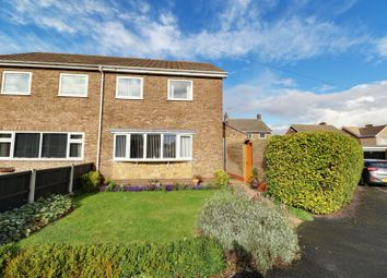 Thumbnail 3 bed semi-detached house for sale in Hayton Close, Winterton, Scunthorpe