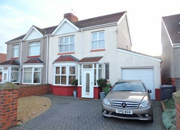 Thumbnail 3 bed semi-detached house for sale in Dulverton Avenue, South Shields
