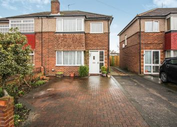 Thumbnail 3 bed semi-detached house for sale in Edinburgh Crescent, Waltham Cross, Herts