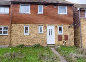 Thumbnail 3 bed terraced house to rent in Lovell Road, Minster On Sea, Sheerness