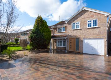 Thumbnail 5 bed detached house for sale in Sheraton Close, Blackwater, Camberley