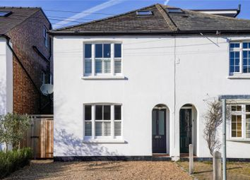 Thumbnail 4 bed semi-detached house for sale in Hogshill Lane, Cobham, Surrey