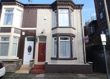 Thumbnail 3 bedroom end terrace house to rent in St David's Road, Anfield, Liverpool