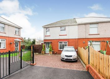 Thumbnail 3 bed semi-detached house for sale in Heol Aelybryn, Ebbw Vale