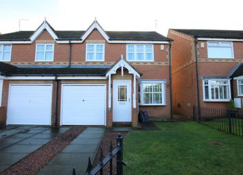 Thumbnail 3 bed semi-detached house to rent in Marwell Drive, Washington