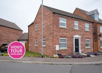 Thumbnail 4 bed detached house for sale in Danube Square, Spalding