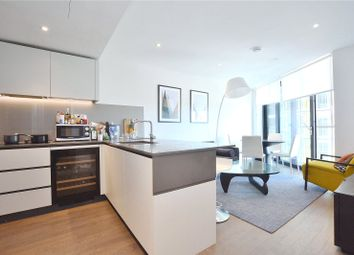 Thumbnail 2 bed flat for sale in Riverlight Four, London
